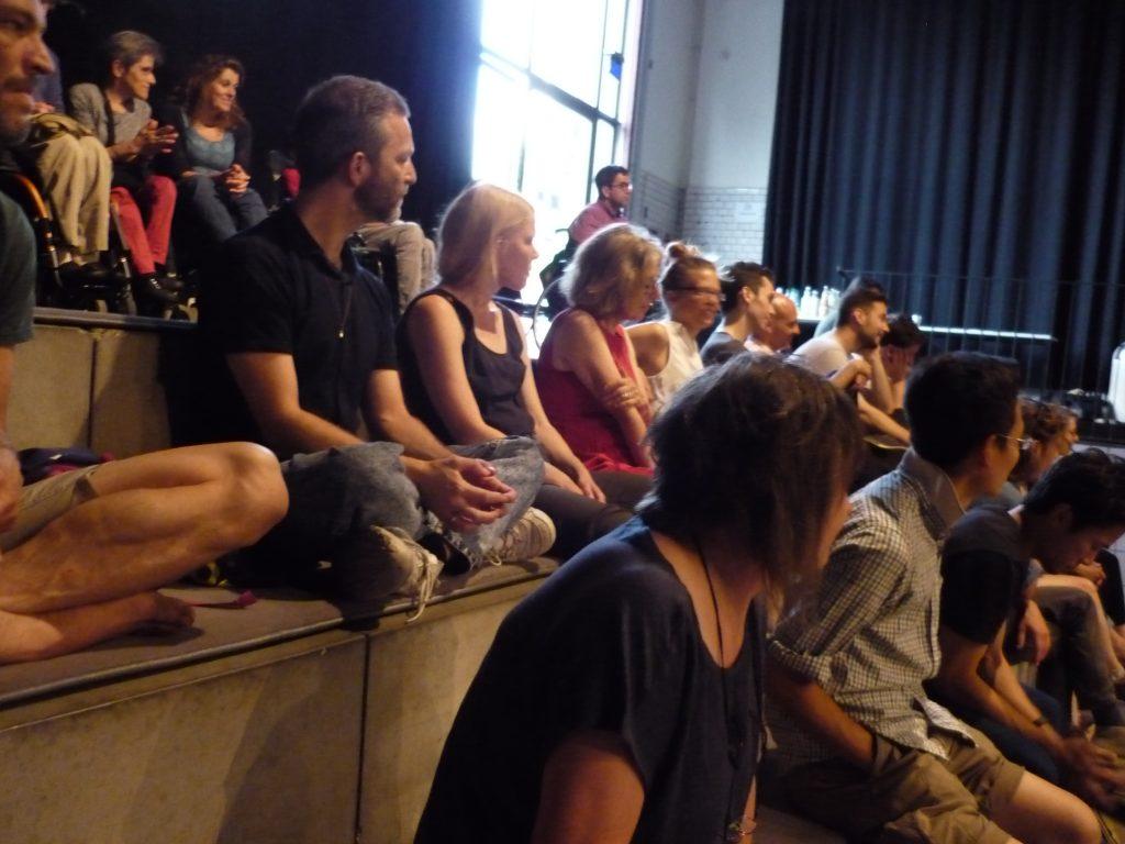 Public attending the premiere